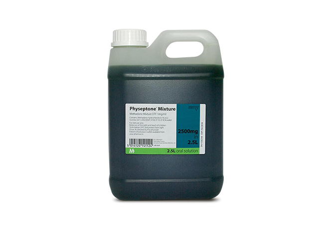 Physeptone Mixture 1mg 2.5L